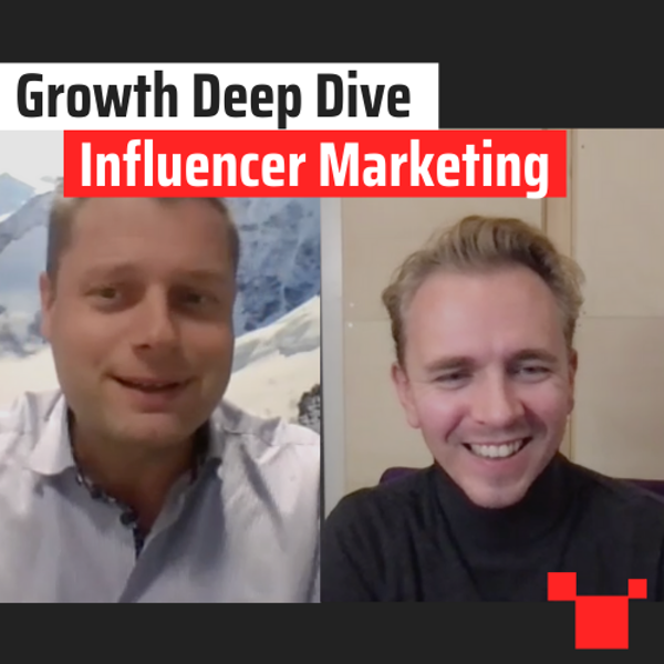 Influencer Marketing met Dennis Stokman - Growth Deep Dive #8 met Jordi Bron Image
