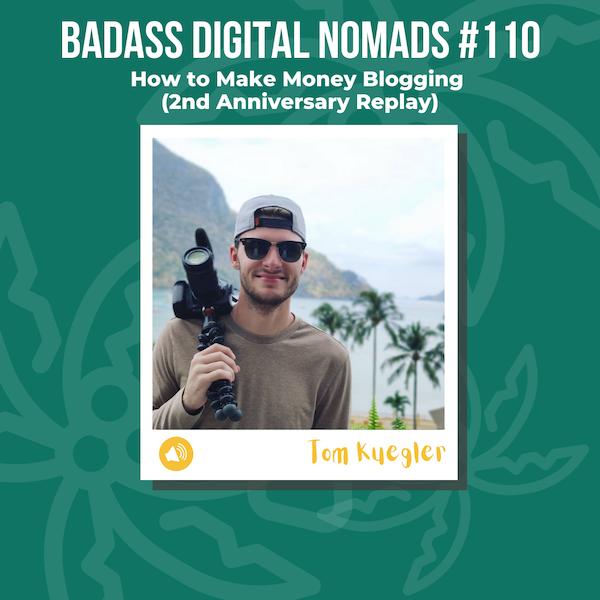 2nd Anniversary Episode - How to Make Money Blogging on Medium with Tom Kuegler (Replay)