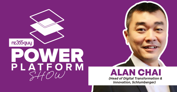 One Company - 20,000 Apps on the Power Platform with Alan Chai