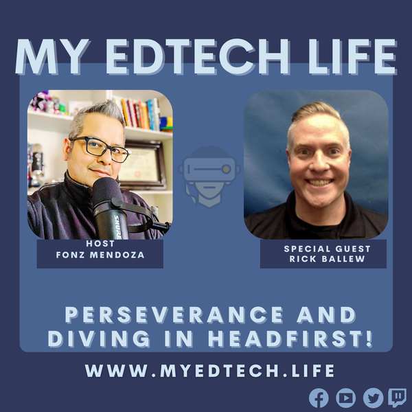 Episode 45: Perseverance and Diving in Headfirst! Image