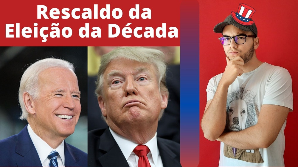 Birra de Trump e Biden Presidente nas Eleições Norte-Americanas 2020