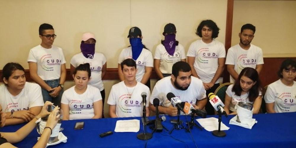 Sectores juveniles de la UNAB emplazan a la Coalición a cumplir acuerdos