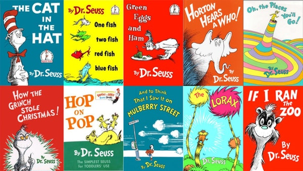 What's the deal with Dr. Seuss?