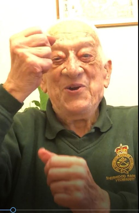 37 WW2 Tank Captain Stanley Perry PART TWO - Interview Image