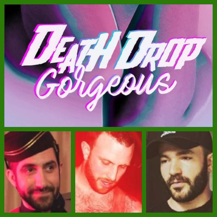 """CHRISTOPHER DALPE, BRANDON PERRAS-SANCHEZ & MICHAEL AHERN – """"Death Drop Gorgeous"""" -The LGBT Horror Filmmaker Sessions: Part 3."""