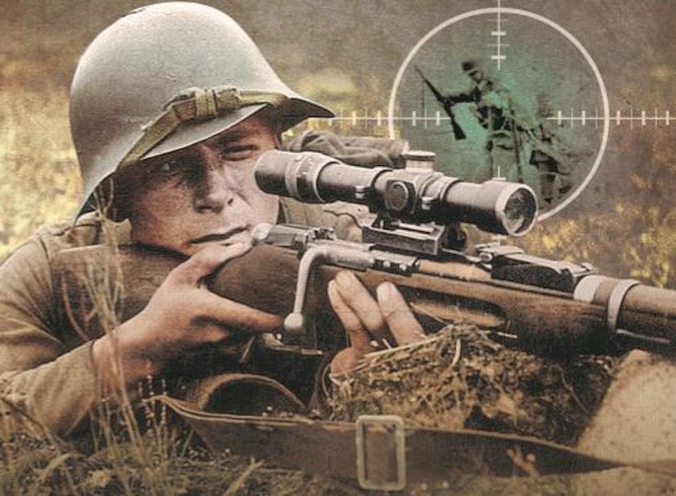 53 Sniper Anthology, Second World War - Book passages