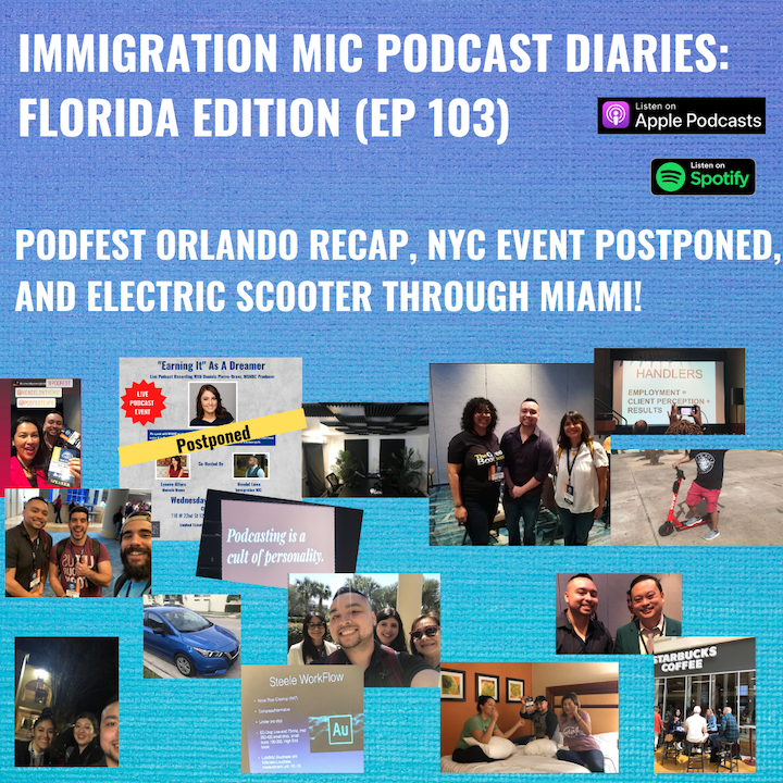 Podfest Orlando Recap, NYC Event Postponed, And Electric Scooter Through Miami!