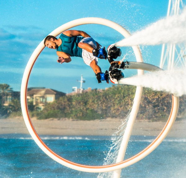 Let's Talk About Hydroflight (aka Flyboard) - Interview with Hydroflight Athlete & Business Owner Ben Merrell Image
