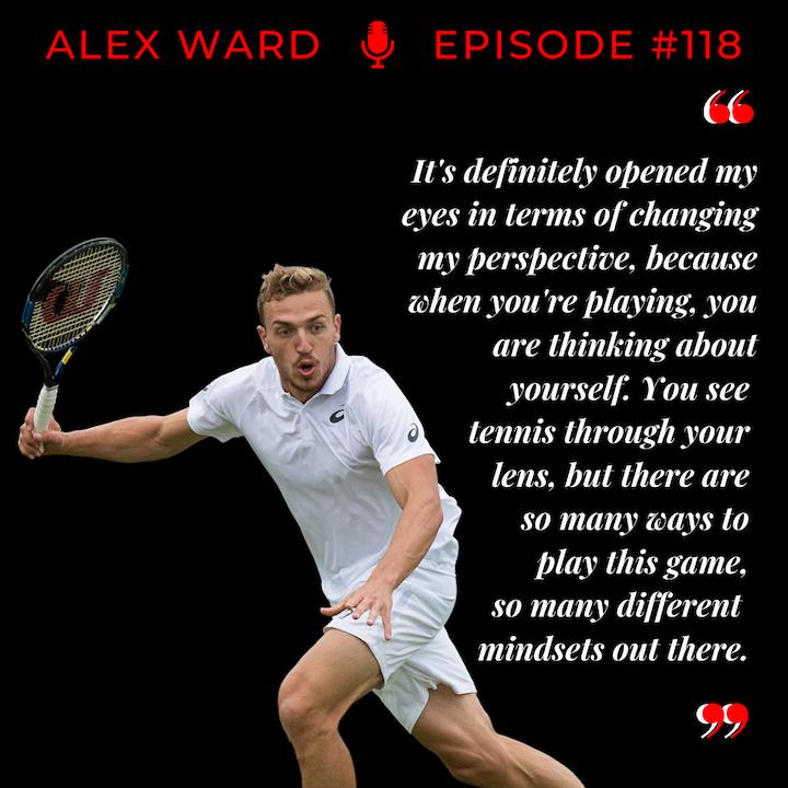 Episode 118: Alex Ward - Outside the Comfort Zone