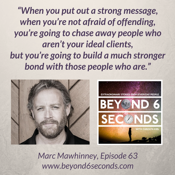 Episode 63: Marc Mawhinney – How to bounce back from adversity and deal with haters (explicit)