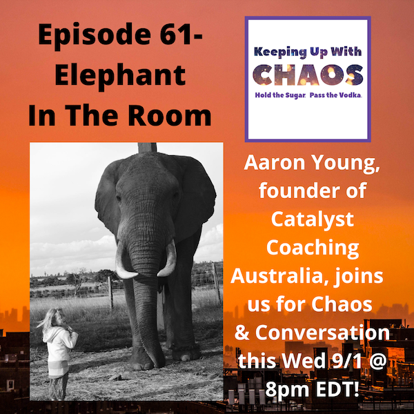 Episode 61 - Elephant in the Room ~ Aaron Young