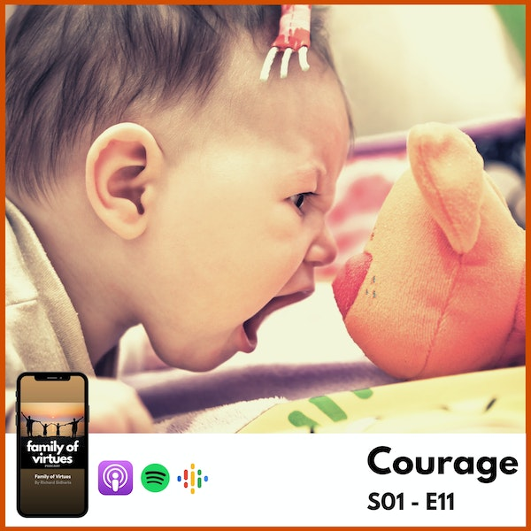 'Courage' - Virtues Reflections Image