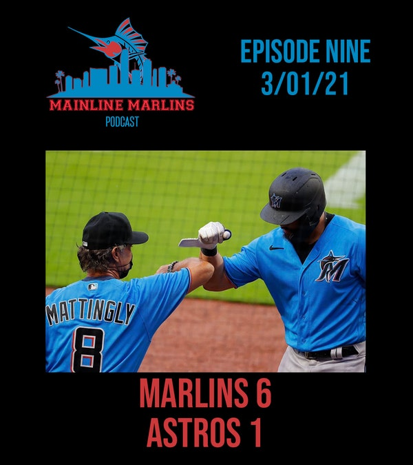 Episode 9 of the Mainline Marlins Podcast with Tommy Stitt Image