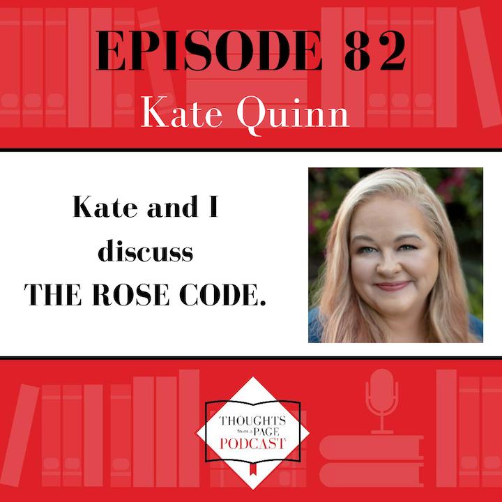 Kate Quinn - THE ROSE CODE