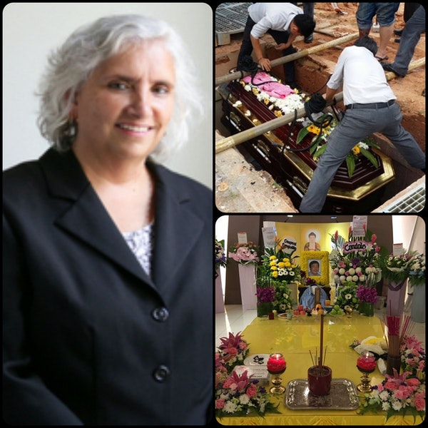 Episode 18 - Special Guest Deborah Andres and Funeral Service Around the World Image