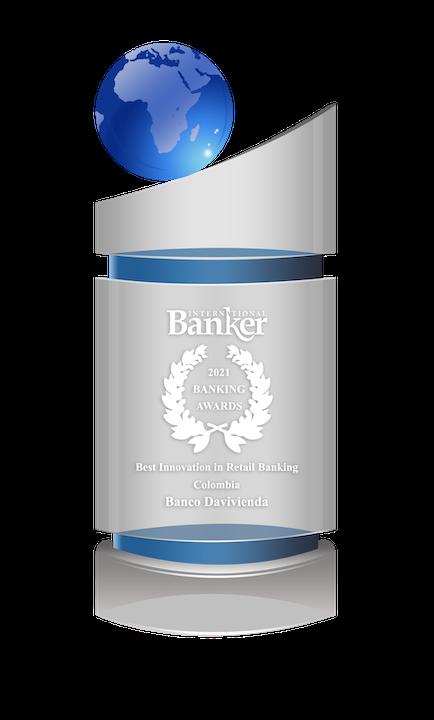 Davivienda es reconocido como mejor innovación en banca retail en los International Banker Awards