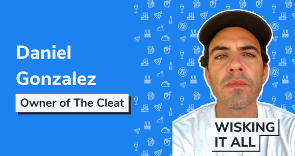 S1E7 - From a touring artist to a first time bar owner with Daniel Gonzalez owner of The Cleat Image