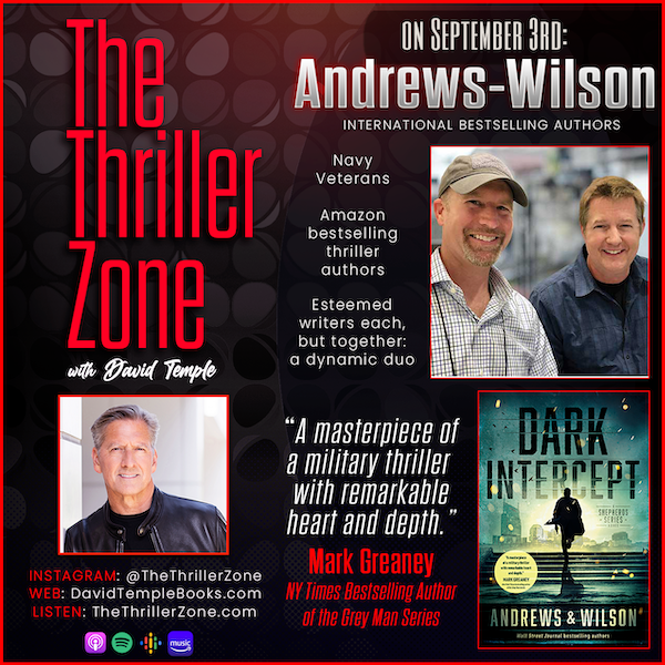 The Dynamic Writing Duo of Andrews-Wilson Image