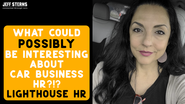 Marcia Kozera/ Lighthouse HR- What could POSSIBLY be interesting about car business HR?!? Image