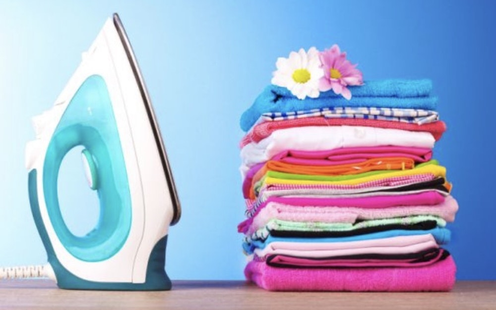 Do you iron your clothes?