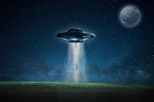 The Minister's Alien Abduction Image