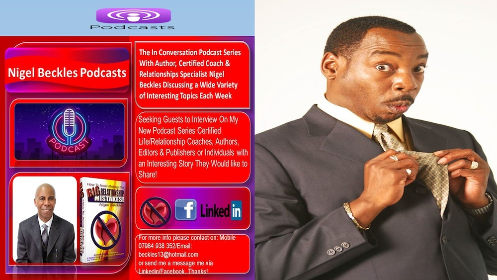 Rudi Lickwood Comedian - History of Black UK Comedy