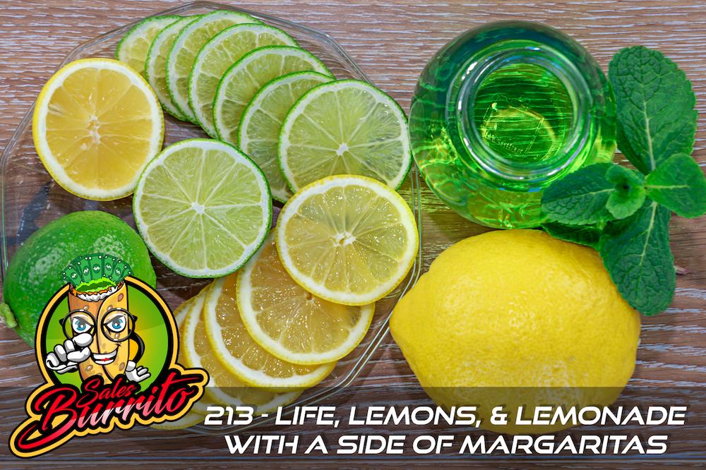 213 - Life, Lemons, Lemonade, and Margaritas