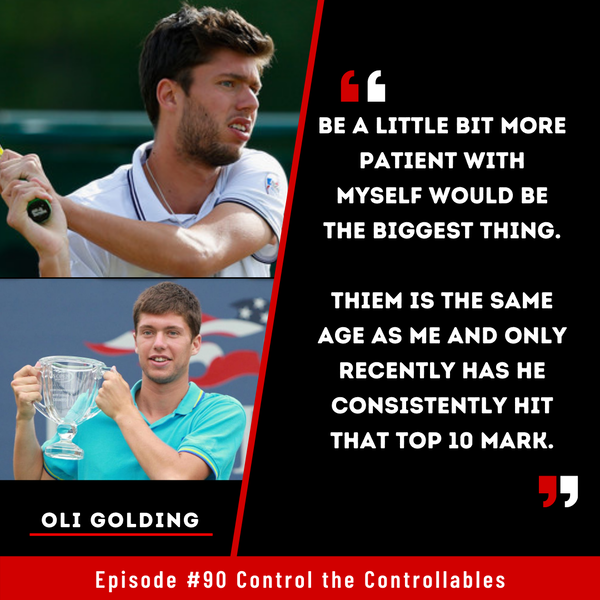 Episode 90: Oli Golding - The different 'stages' of Tennis Life