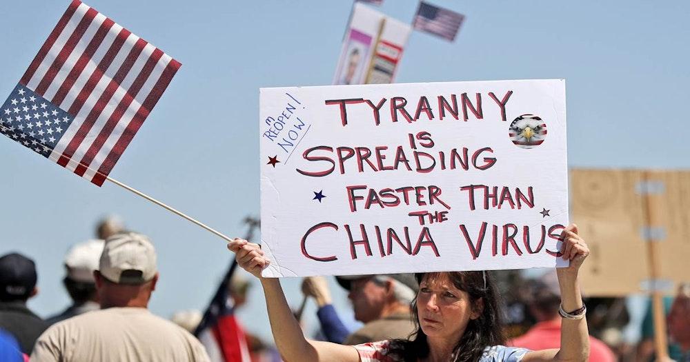 China virus lockdowns in full swing again
