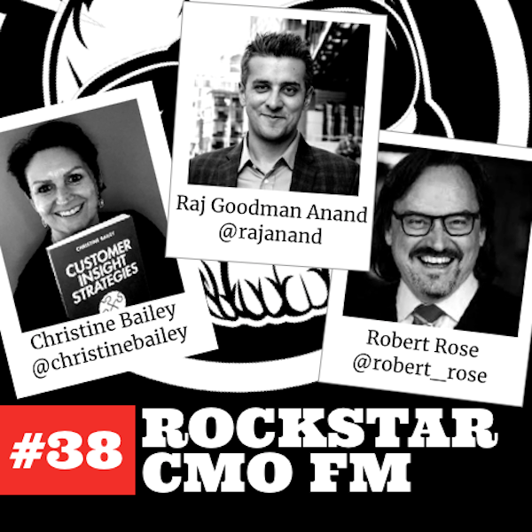 #38: The Dr. Bailey's Book, Raj Goodman Anand, Robert Rose and a Thankful Cocktail Episode Image