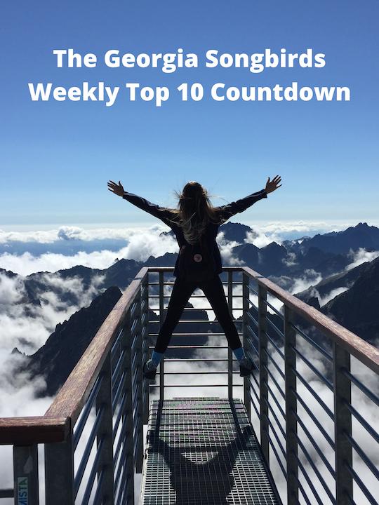 The Georgia Songbirds Weekly Top 10 Countdown Week 61 Image