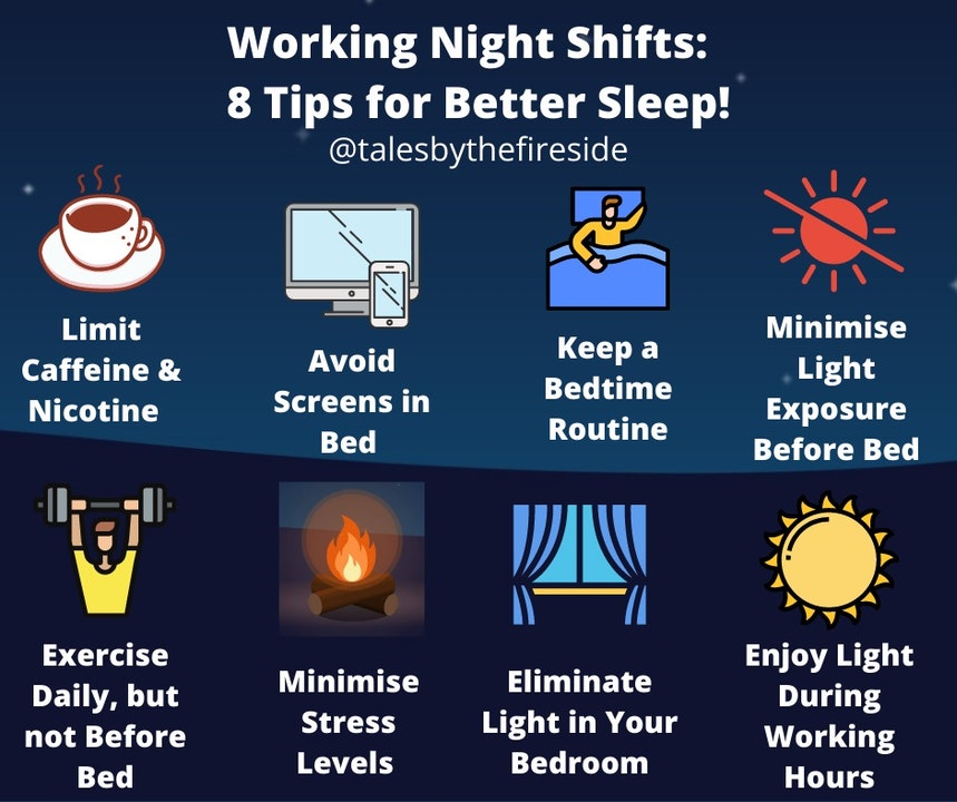 Working Night Shifts: 8 Tips for Better Sleep!