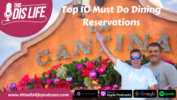 Top 10 Must Do Dining Reservations Image