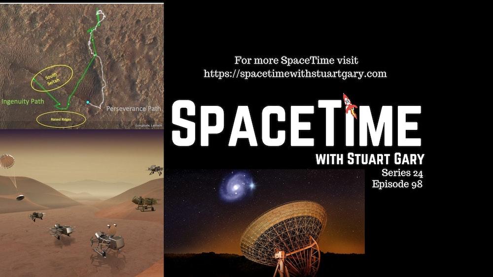 Ingenuity Completes its 12th Flight on Mars