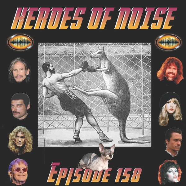 Episode 158 - Animal vs Man and A Battle of Rock Singers Image
