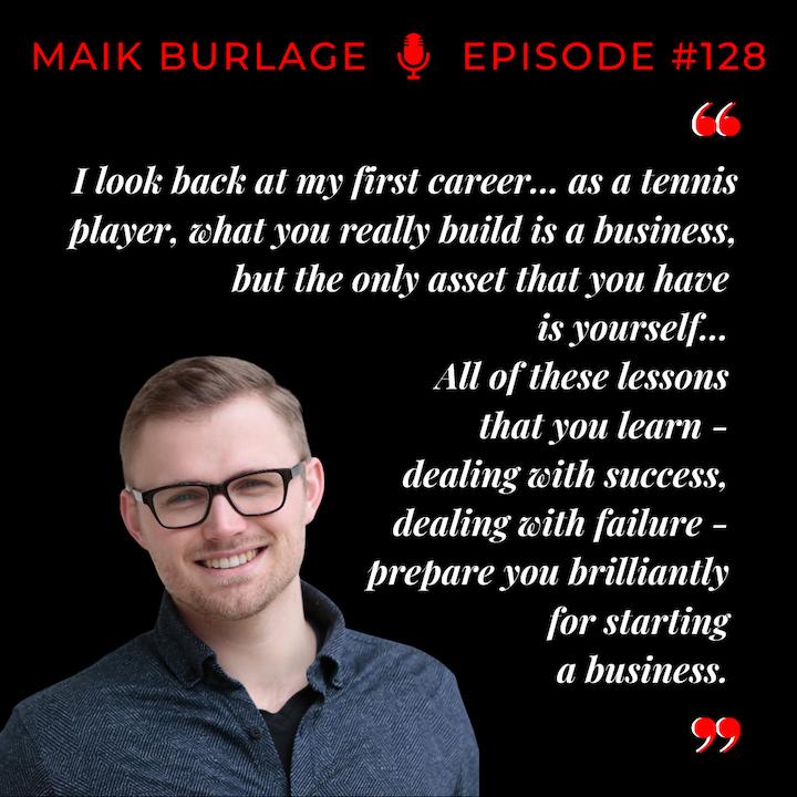 Episode 128: Maik Burlage - Smart Tennis