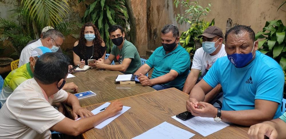 Grupos de exiliados eligen a delegados de áreas de trabajo para conformar mecanismo de coordinación