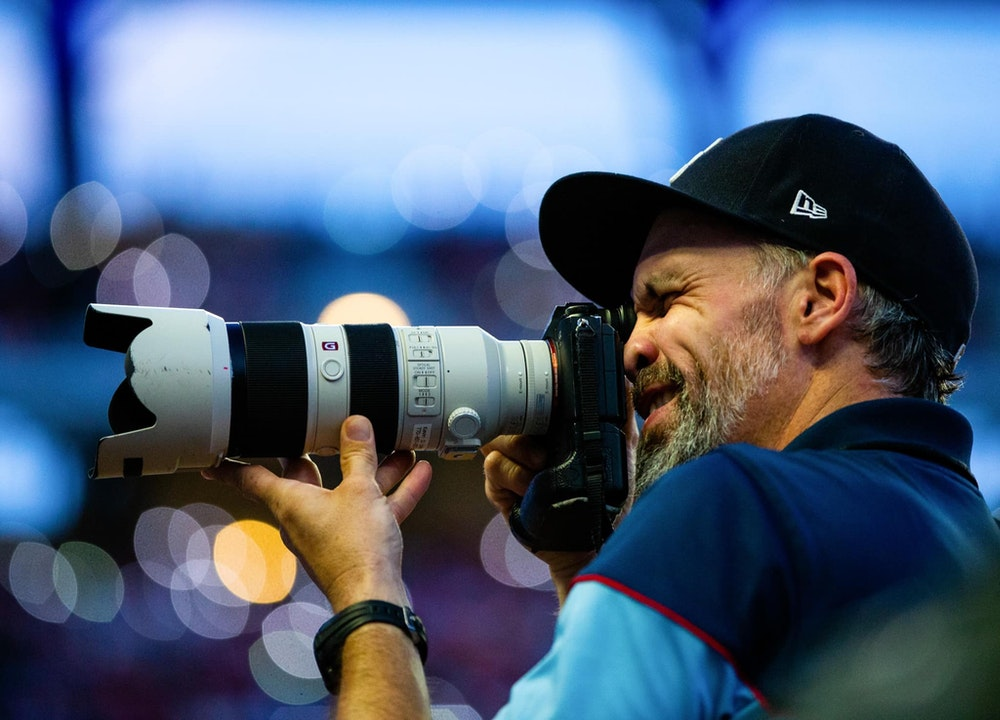 Documentary, commercial and sports photographer Kevin Liles
