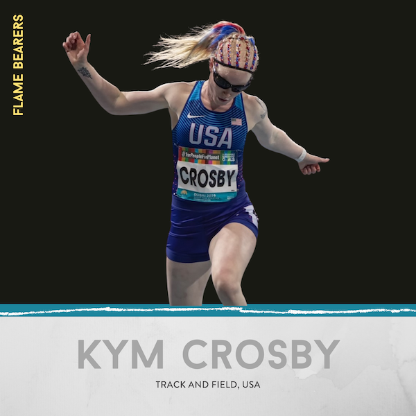Kym Crosby (USA): Sprinting, Marriage & Albinism Image