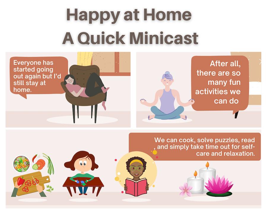 #remoteworklife, A Quick Minicast