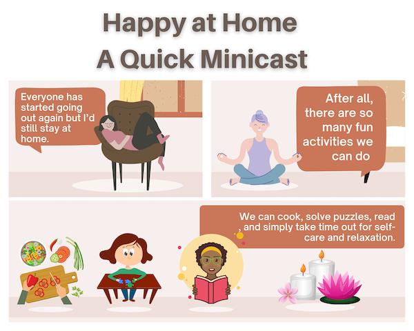 #remoteworklife, A Quick Minicast Image