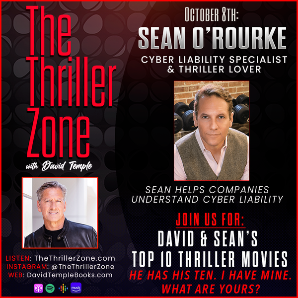 Cyber Liability Consultant & Thriller Lover Sean O'Rourke Image