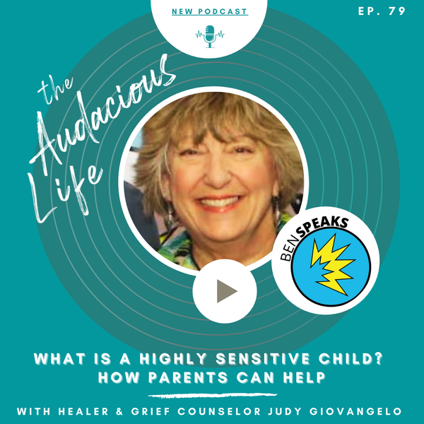 What is a highly sensitive child?  Ep 79 Image