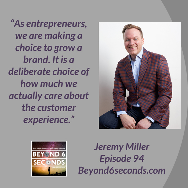 Episode 94: Build your brand by unlocking the creative genius of teams – with Jeremy Miller Image