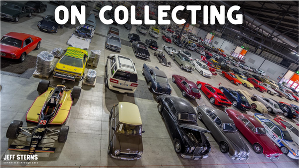 IN THE MIDDLE OF THE AUTOMOTIVE COLLECTOR WORLD, CHRIS BRIGHT -FOUNDER OF CPX TALKS ABOUT WHAT IS MOST COLLECTABLE Image