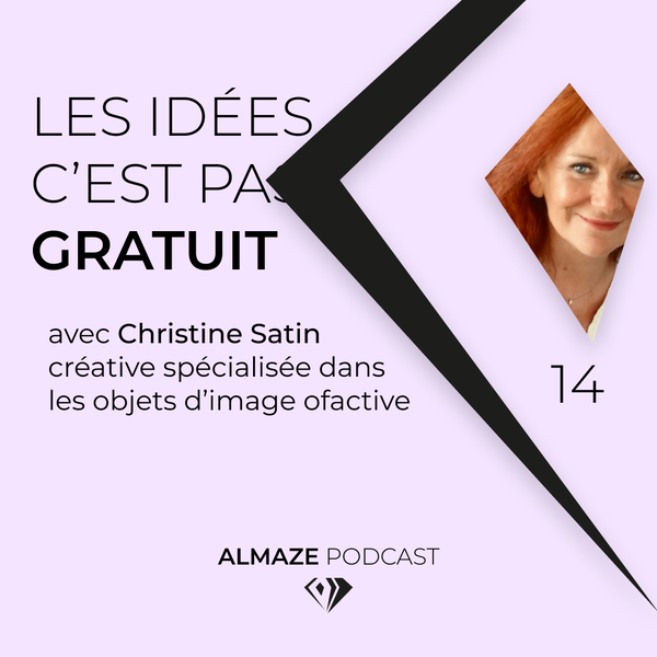 """#14 """"Les idées c'est pas gratuit. C'est du travail... Et ça se rémunère"""" - Christine Satin Image"""