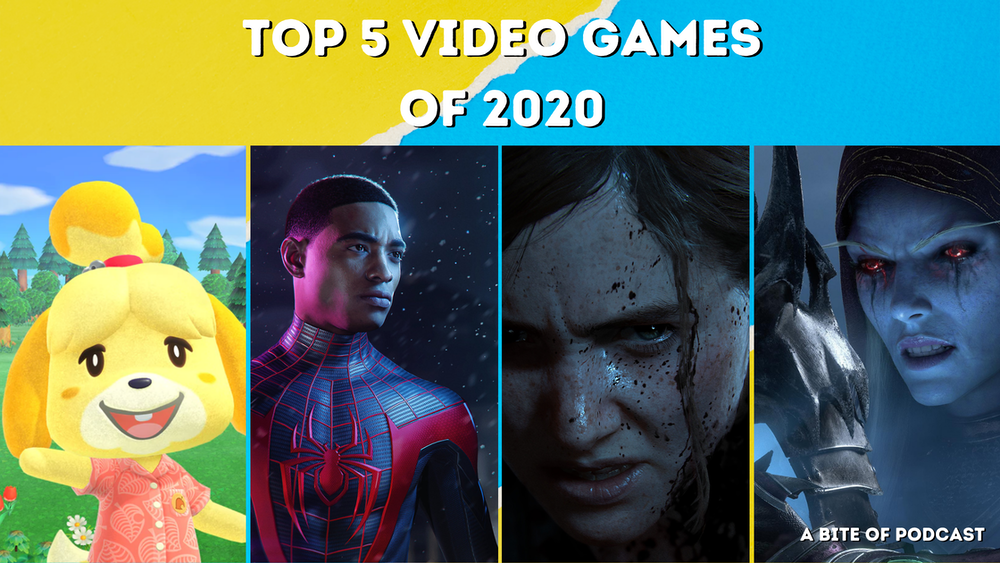 Top 5 Video Games of 2020