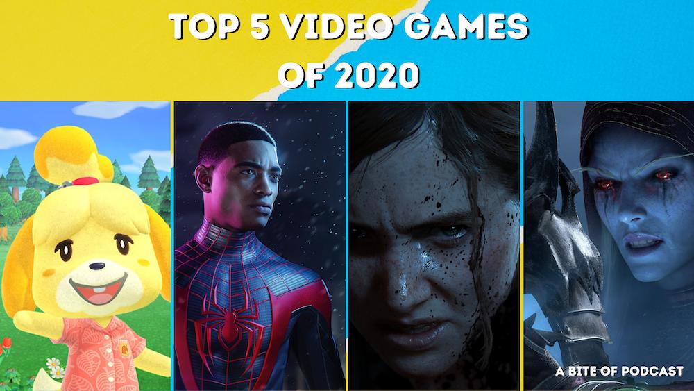 Top 5 Video Games of 2020