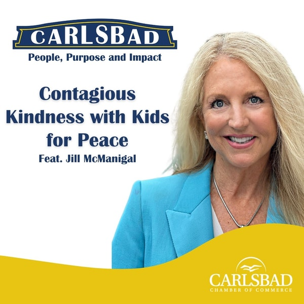 Ep. 7 Contagious Kindness with Kids for Peace Co-Founder, Jill McManigal Image