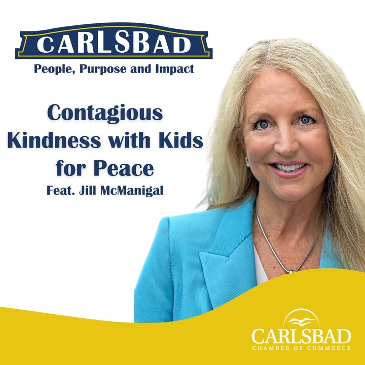 Ep. 7 Contagious Kindness with Kids for Peace Co-Founder, Jill McManigal